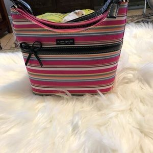 Kate Spade Multi Pink Canvas Handbag
